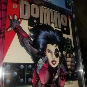 Marvel Domino #1 1997 comic CGC 9.4 Graded